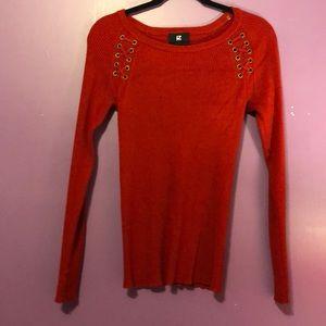 Red iZ BYER shirt